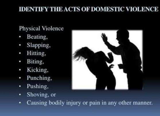 2 .Domestic violence